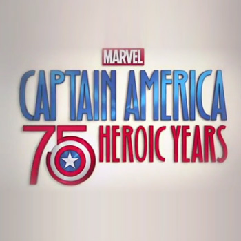 Captain America celebrates '75 Heroic Years'