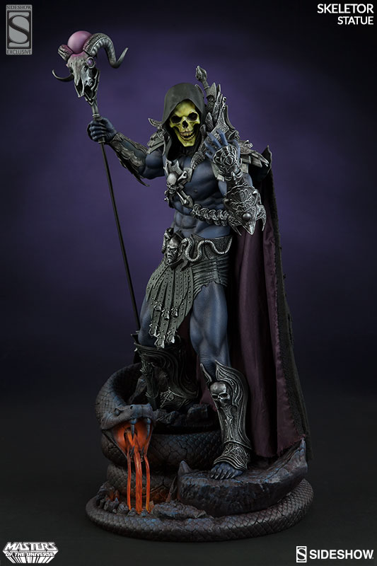 Masters of the Universe Skeletor Statue