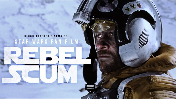 Return to Hoth with this most impressive Star Wars fan film, 'Rebel Scum'