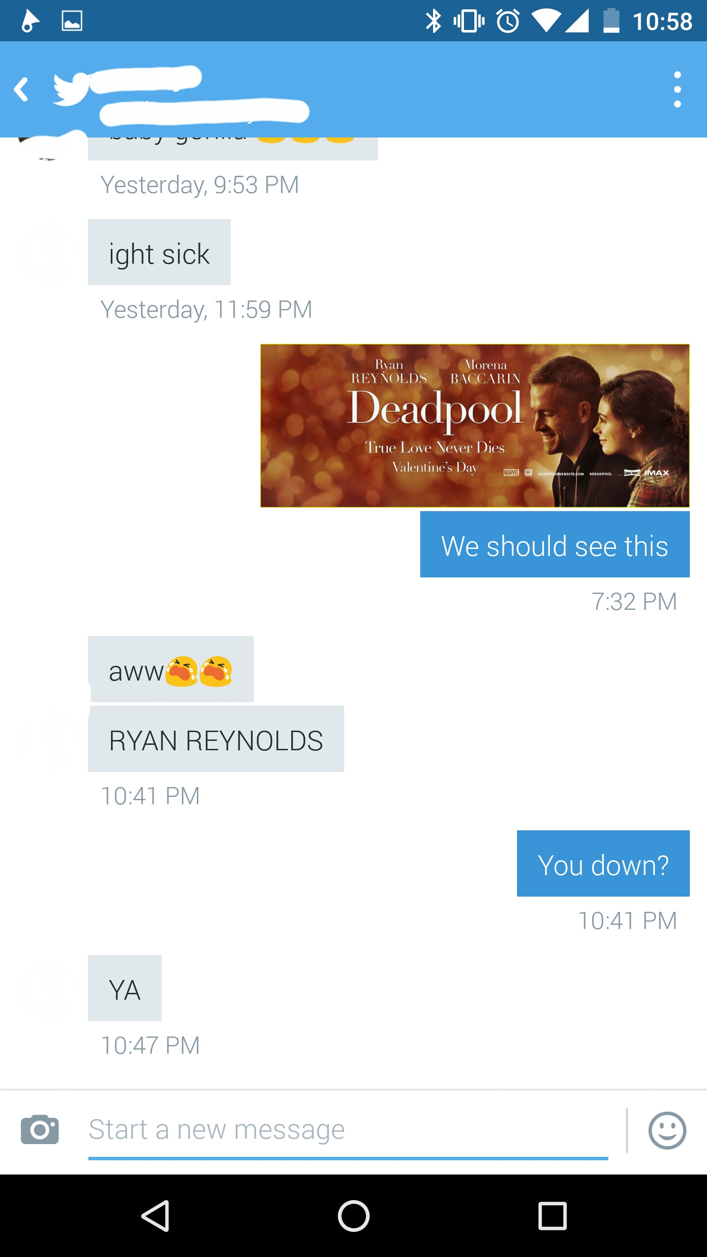 How Fans Are Tricking Unsuspecting Girlfriends Into Seeing Deadpool