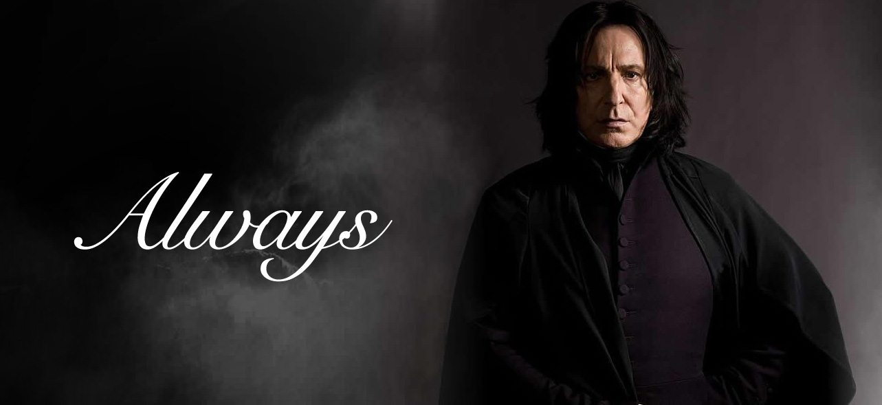 Alan Rickman Is Gone But Severus Snape Will Live