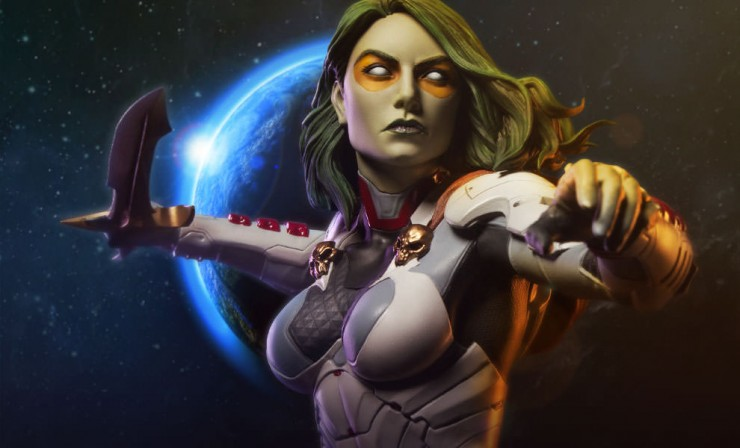 Sideshow presents Gamora – the most dangerous woman in the universe!