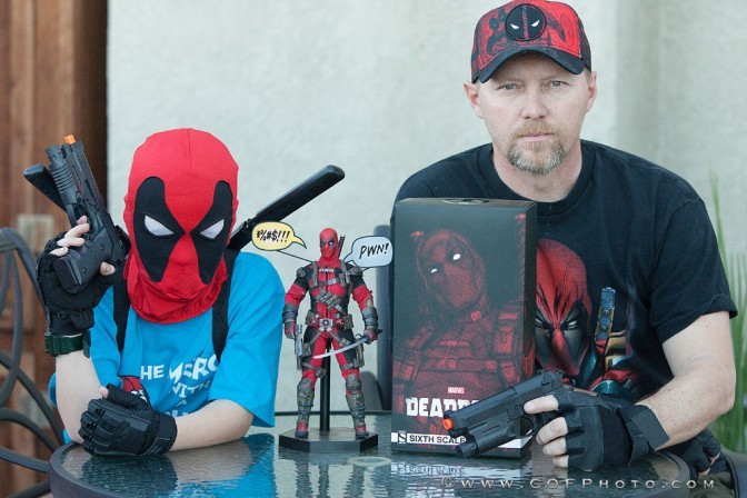 Richter Boys Review the Sideshow Deadpool Sixth Scale Figure