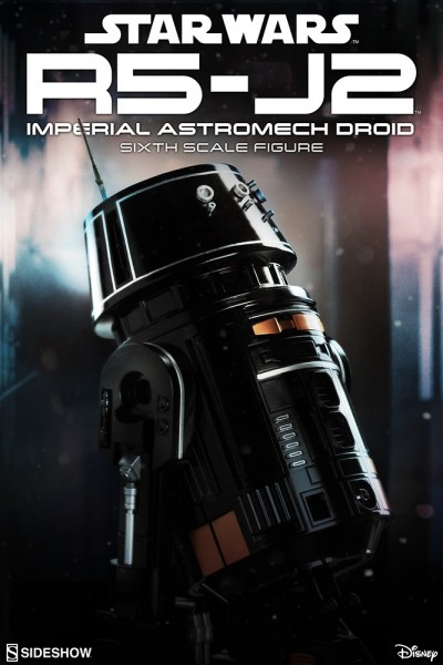 Sideshow's R5-J2 Imperial Astromech Droid is ready to serve aboard your Death Star