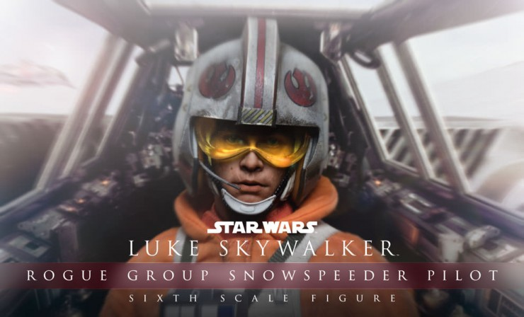 Alert Echo Base! The Luke Skywalker Rogue Group Snowspeeder Pilot Sixth Scale Figure is on his way