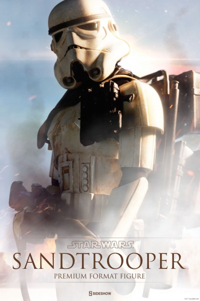 Sideshow presents the Sandtrooper Premium Format Figure
