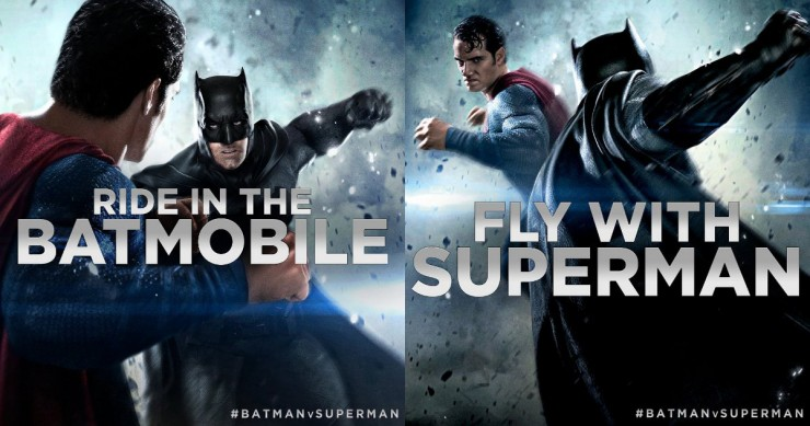 Donate to charity and enter to win the Ultimate Batman v Superman: Dawn of Justice Experience