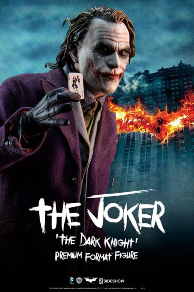 Let's put a smile on that face! Sideshow presents the Joker Premium Format Figure from The Dark Knight
