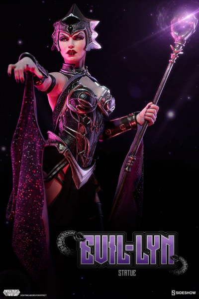 Evil Lyn Joins Skeletor and He-Man in Sideshow's Masters of the Universe Collection