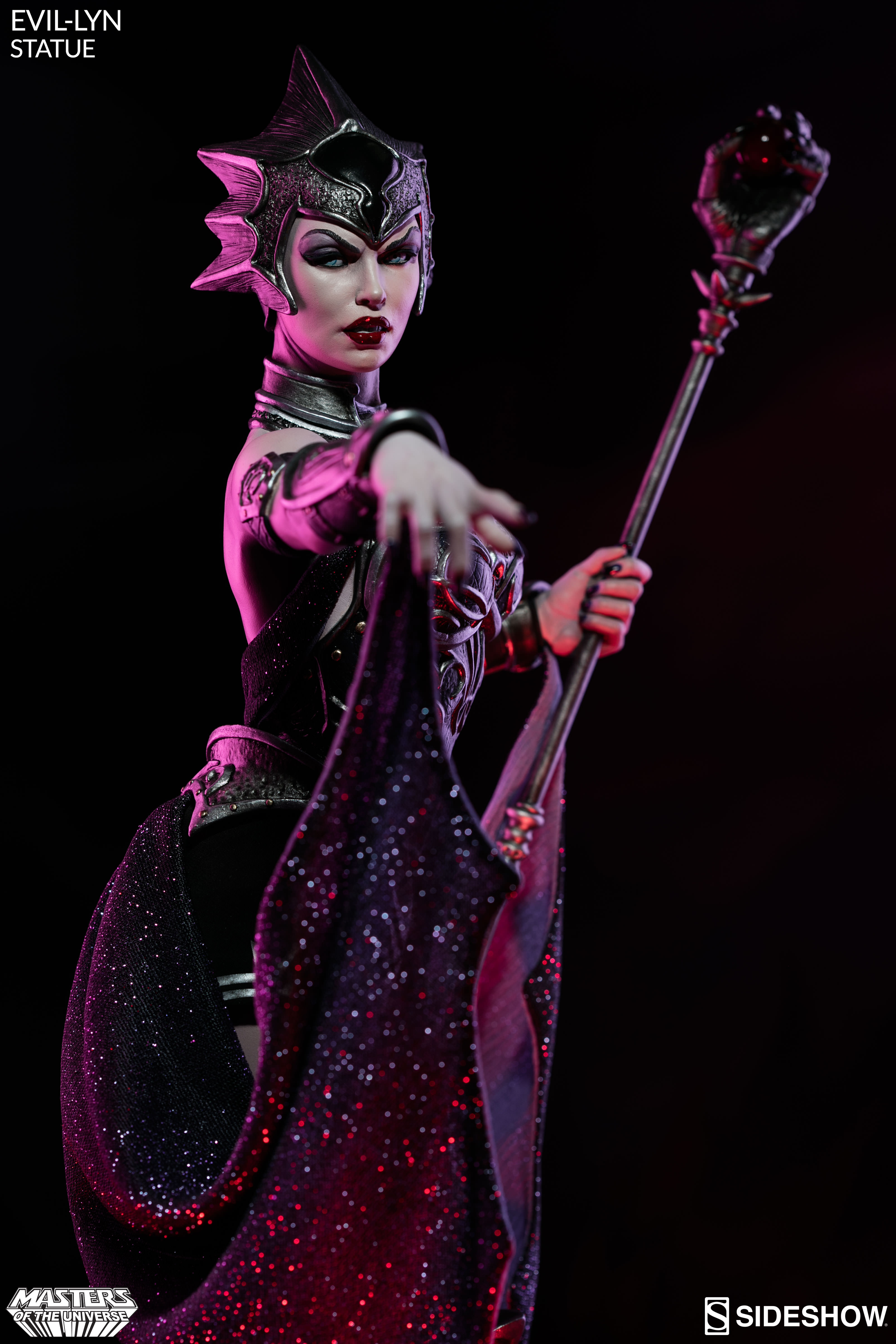 Evil Lyn Joins Skeletor And He Man In Sideshow S Masters Of The Universe Collection Sideshow