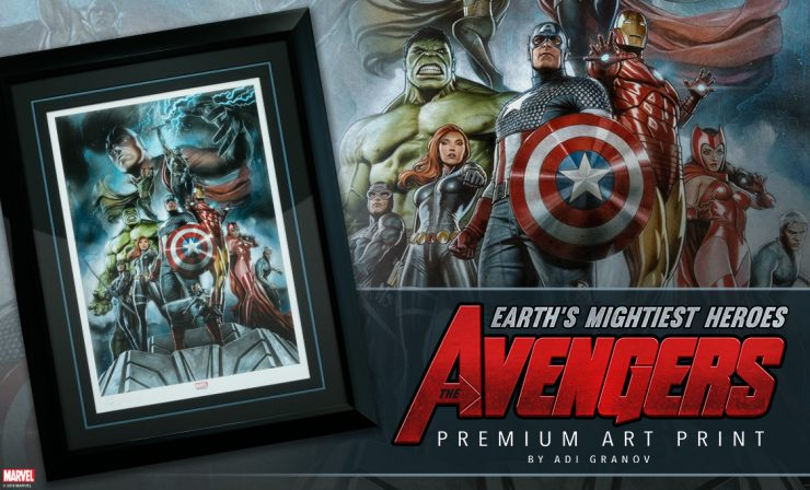 The Avengers: Earth's Mightiest Heroes Premium Art Print