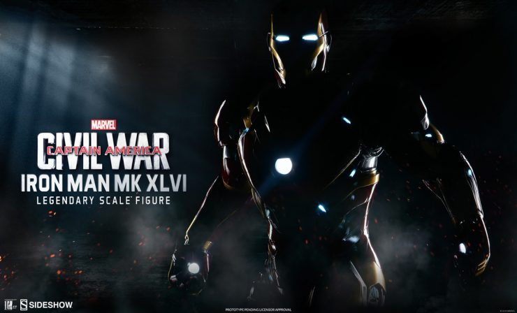 Iron Man Mark XLVI Legendary Scale Figure