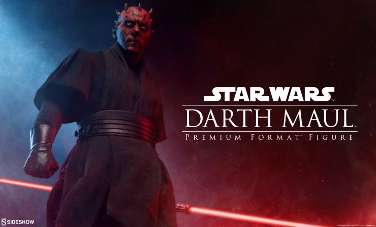 Darth Maul Premium Format Figure Announcement