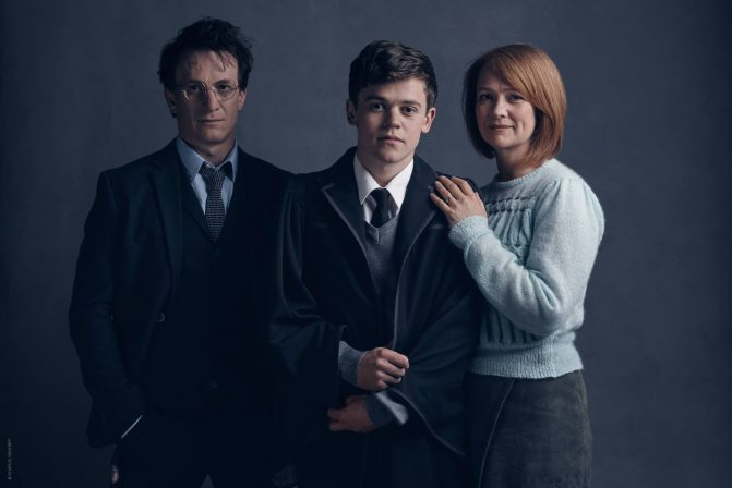 The new pictures of the cast of Harry Potter And The Cursed Child are like a memory pulled from the Pensieve