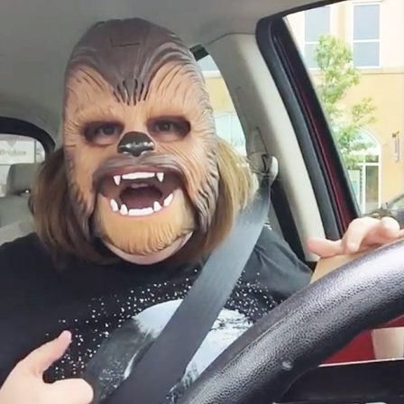 Chewbacca Mom is bringing the Wookiee love to the whole world and the Star Wars universe