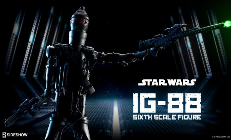IG-88 Sixth Scale Figure Announcement