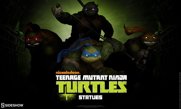 Teenage Mutant Ninja Turtles Statue Announcement