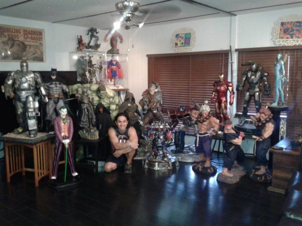 Sideshow Featured Collector: Alfie Bolanos