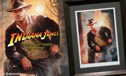 Indiana Jones and the Temple of Doom Art Print Announcement