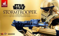 Hot Toys Gold Stormtrooper Sixth Scale Figure Announcement