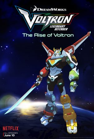 DreamWorks Voltron Legendary Defender Now Streaming on Netflix!