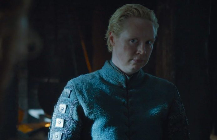 Brienne of Tarth has a lineage worthy of her loyalty and love is in the air
