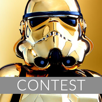 Gold Stormtrooper Sixth Scale Figure Giveaway