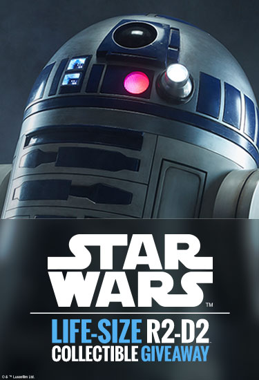 Life-Size R2-D2 Giveaway!