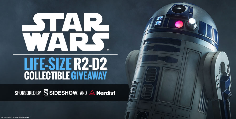 R2-D2 Life-Size Figure Giveaway