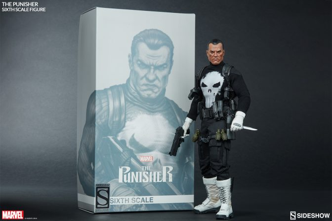 The Punisher Sixth Scale Figure Production Photos