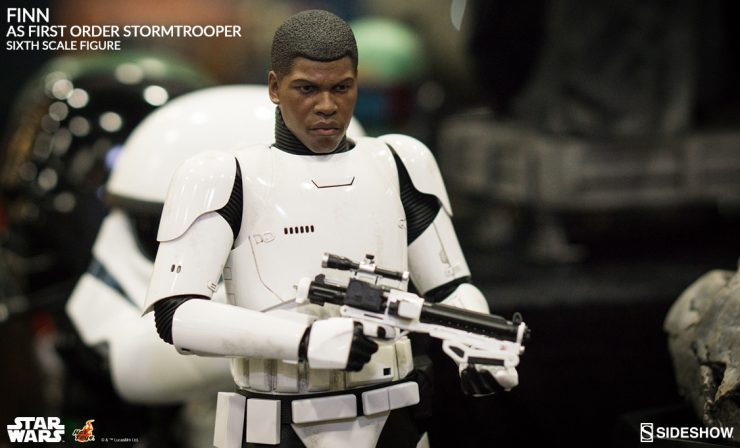 Finn as First Order Stormtrooper Sixth Scale Figure