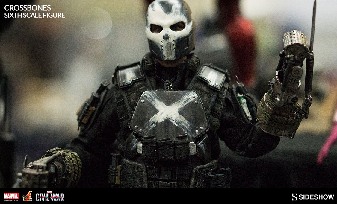 Crossbones Sixth Scale Figure Sideshow Collectibles