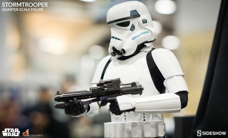 Hot Toys Stormtrooper Quarter Scale Figure