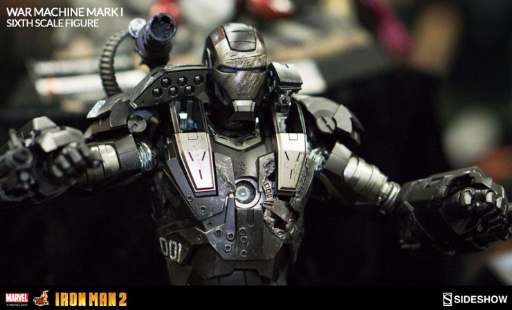 War Machine Mark I Die Cast Sixth Scale Figure