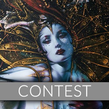The Queen's Embrace Art Print Giveaway