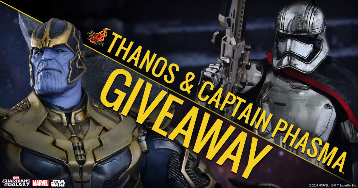 Livestream Thanos and Captain Phasma Giveaway