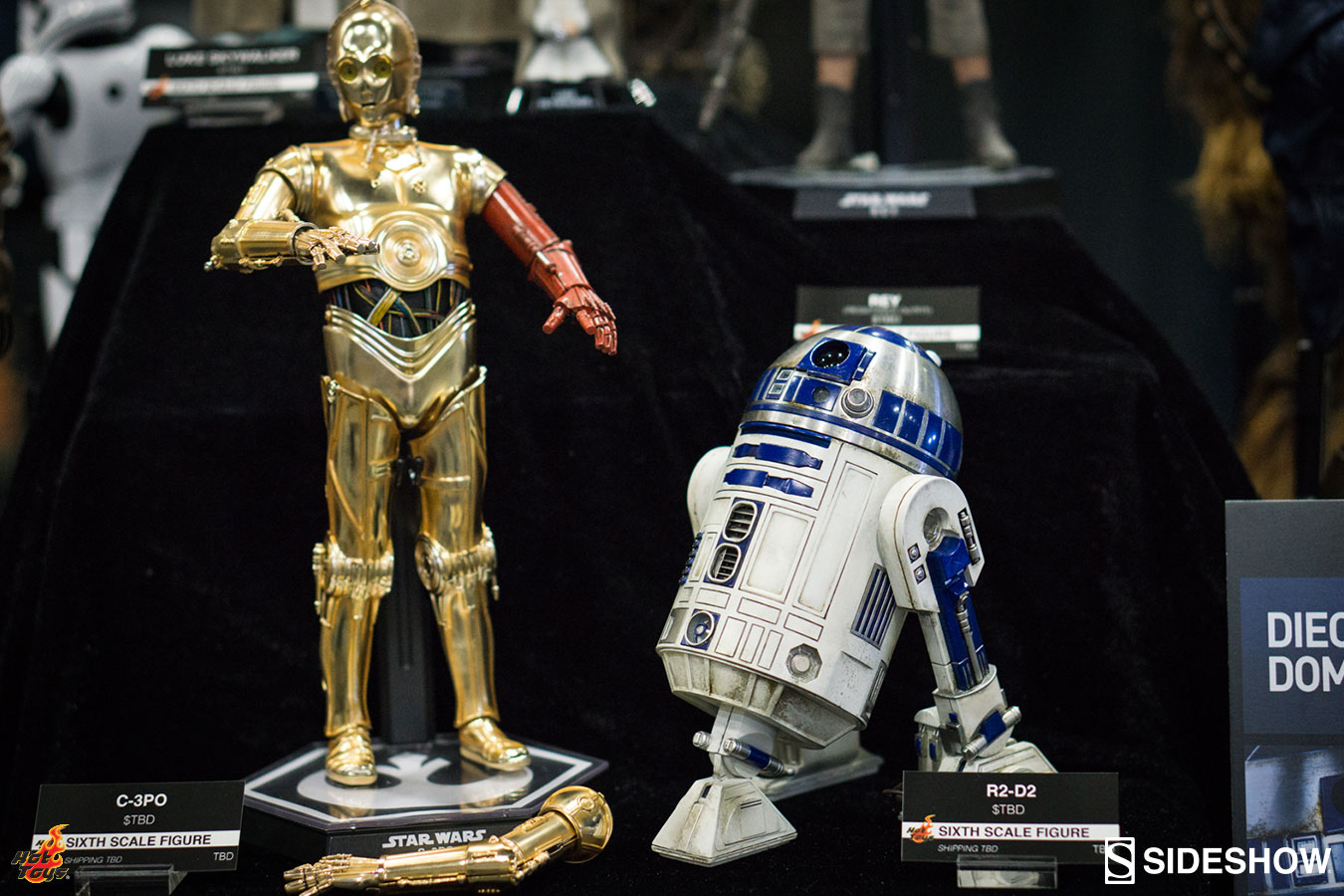 R2d2 And C3po Toys : Hot toys r d