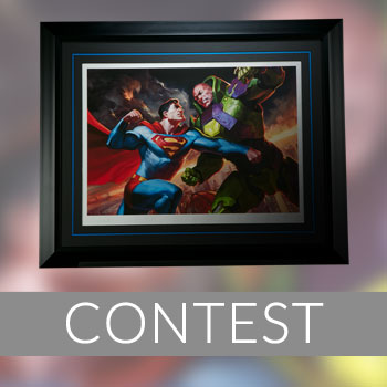 Superman vs Lex Luthor Print Giveaway