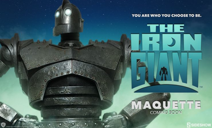 Iron Giant Maquette Announcement
