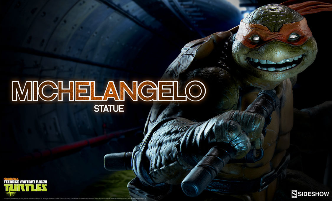 Michelangelo Statue | Sideshow Collectibles