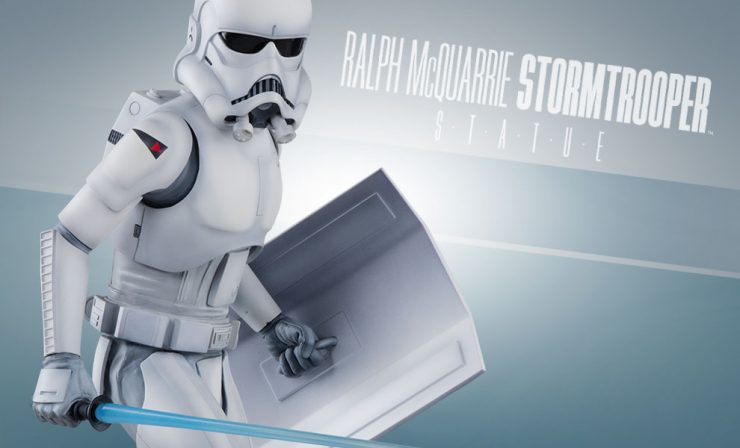 Ralph McQuarrie Stormtrooper Statue – Final Production Gallery