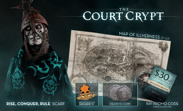Sideshow's Spooktacular Kit: Court Crypt