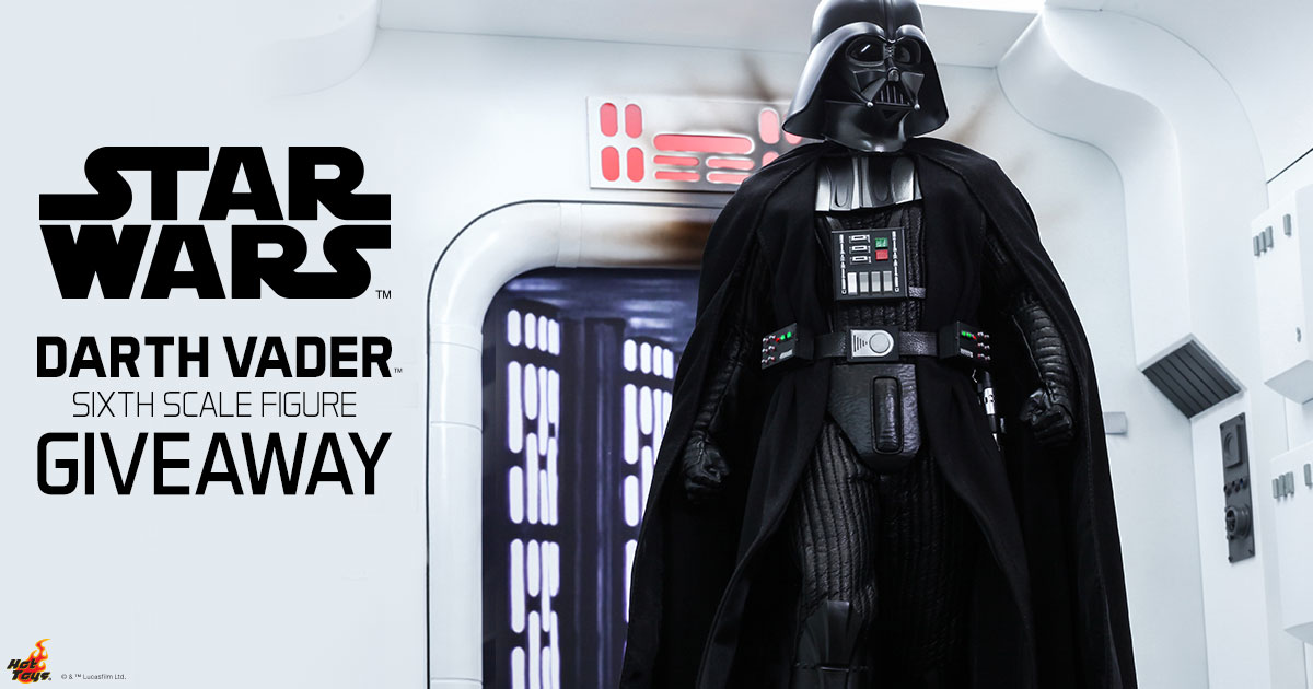 Darth Vader Sixth Scale Figure Giveaway -Expires 9/11
