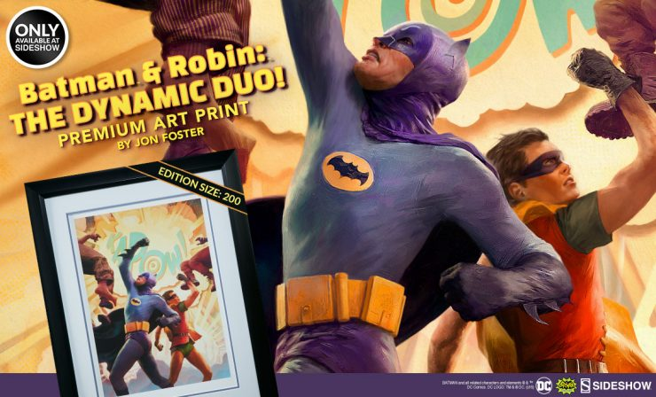 Batman & Robin: The Dynamic Duo! Premium Art Print