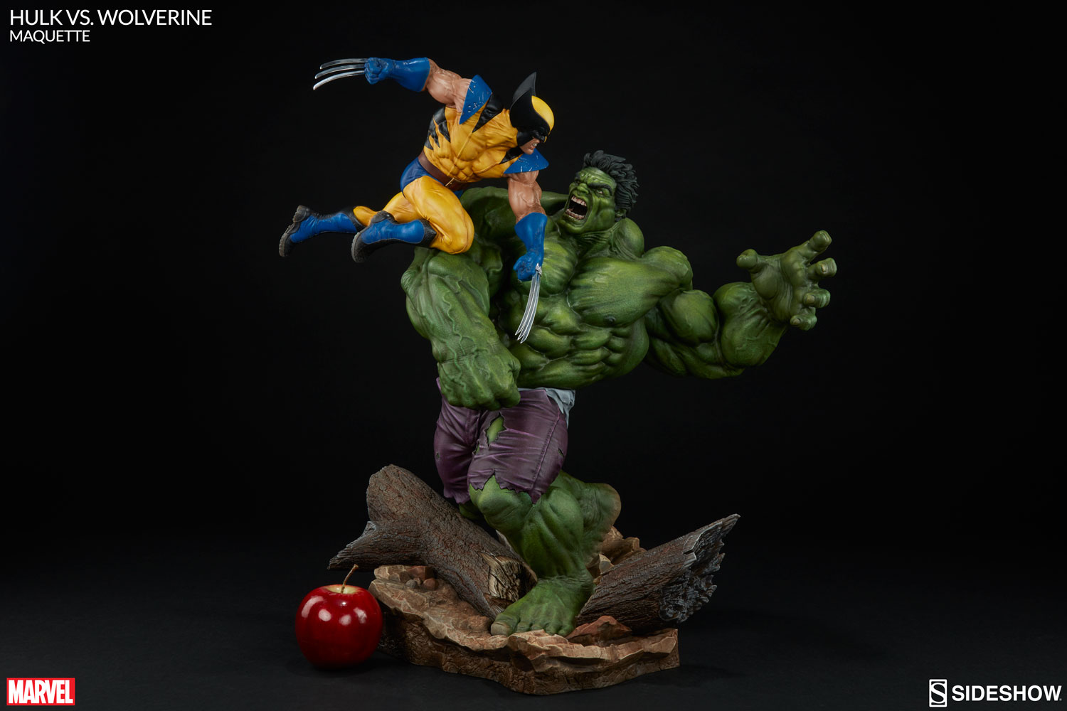 Hulk Vs Wolverine A Meeting Of The Mighty Sideshow