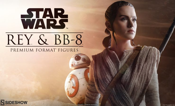 Rey and BB-8 Premium Format Figures