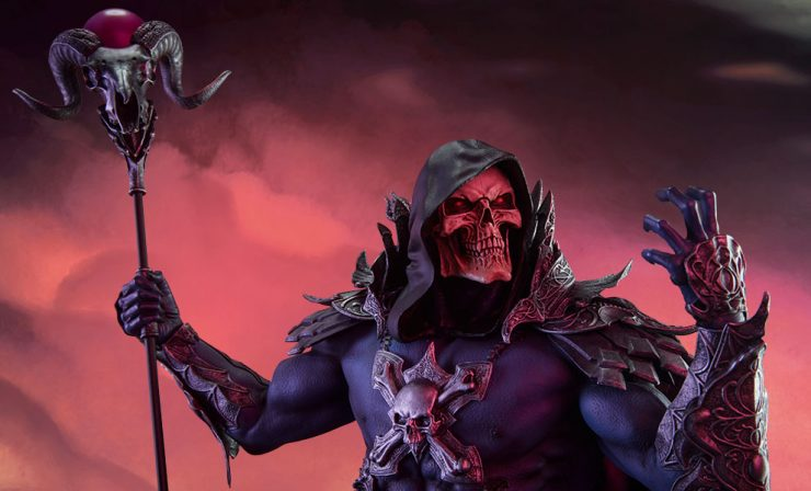 New Photos – Skeletor Statue