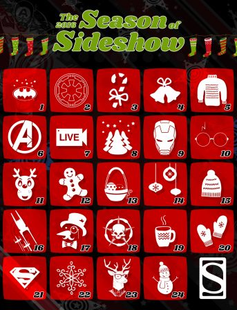 Celebrate the Season of Sideshow!