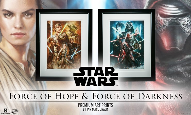 Force of Darkness and Hope Art Prints