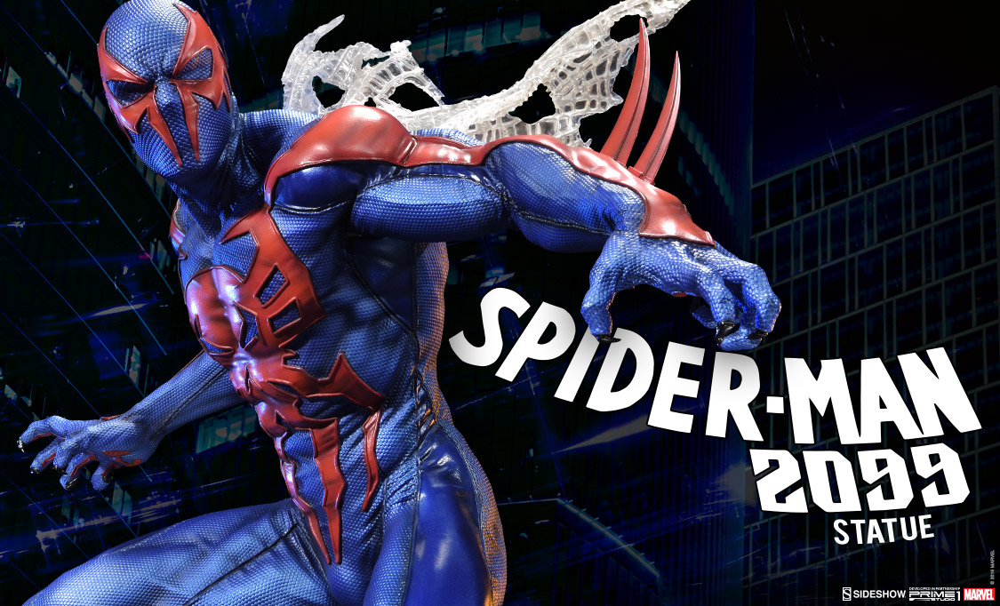 spider man 2099 statue sideshow collectibles